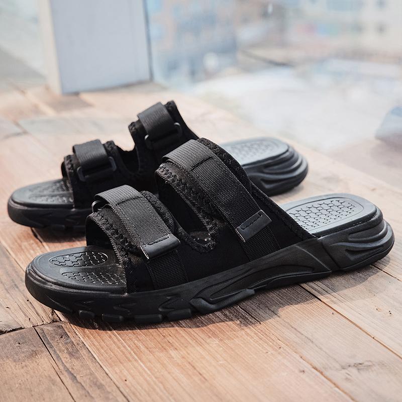 femmes sandalias pour le sport glisse en caoutchouc sandale mens romain sandels occasionnels mens trekking homme Gladiateur plage sandales coréen 2020