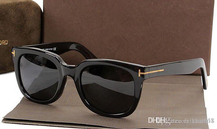 top di lusso qualtiy nuovo modo 211 Tom Occhiali da sole per uomo donna Erika Eyewear guado Designer Brand Occhiali da sole con la scatola originale 2019