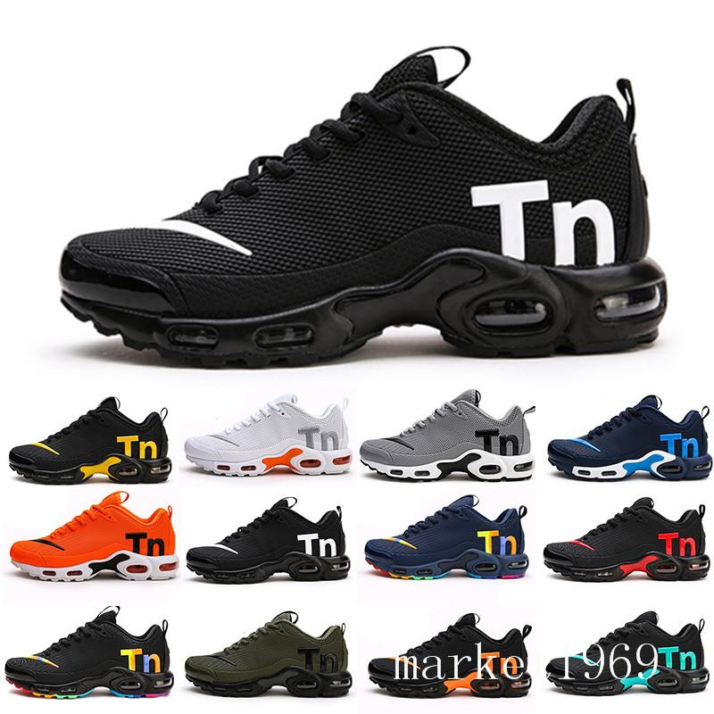 Mercurial TN Mens Designer Running Shoes 2019 Men Casual Air Cushion Dress Trainers Outdoor Best Hiking Jogging Sports Sneakers US 7-12 RT9-