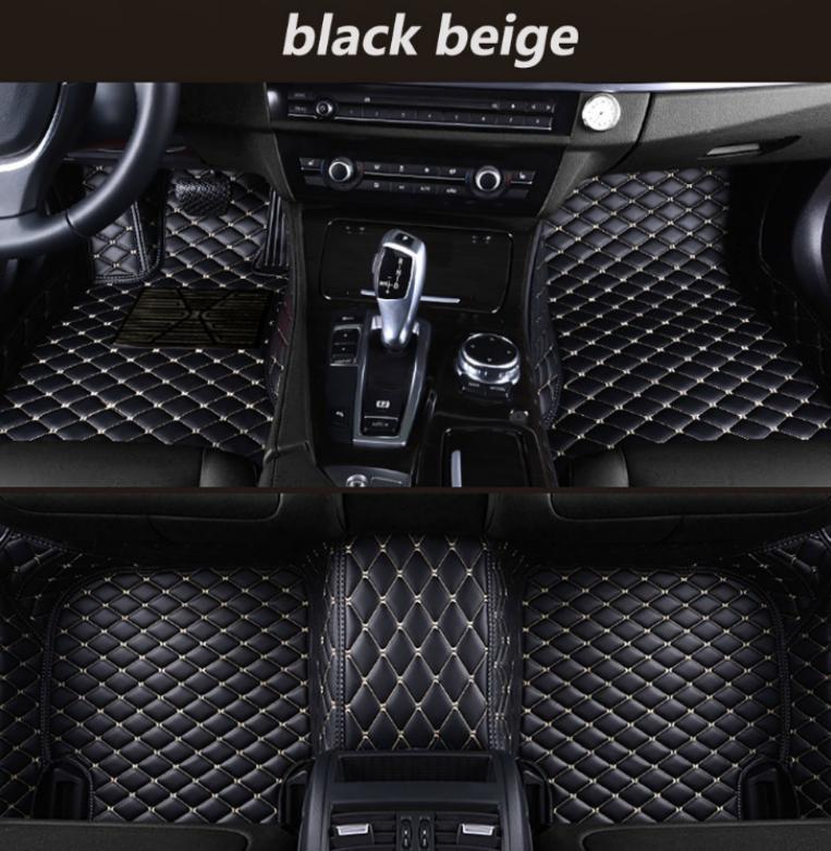 Pour Peugeot 4008 2012-2017 Pied voiture Pad luxe Surround cuir imperméable / ** +