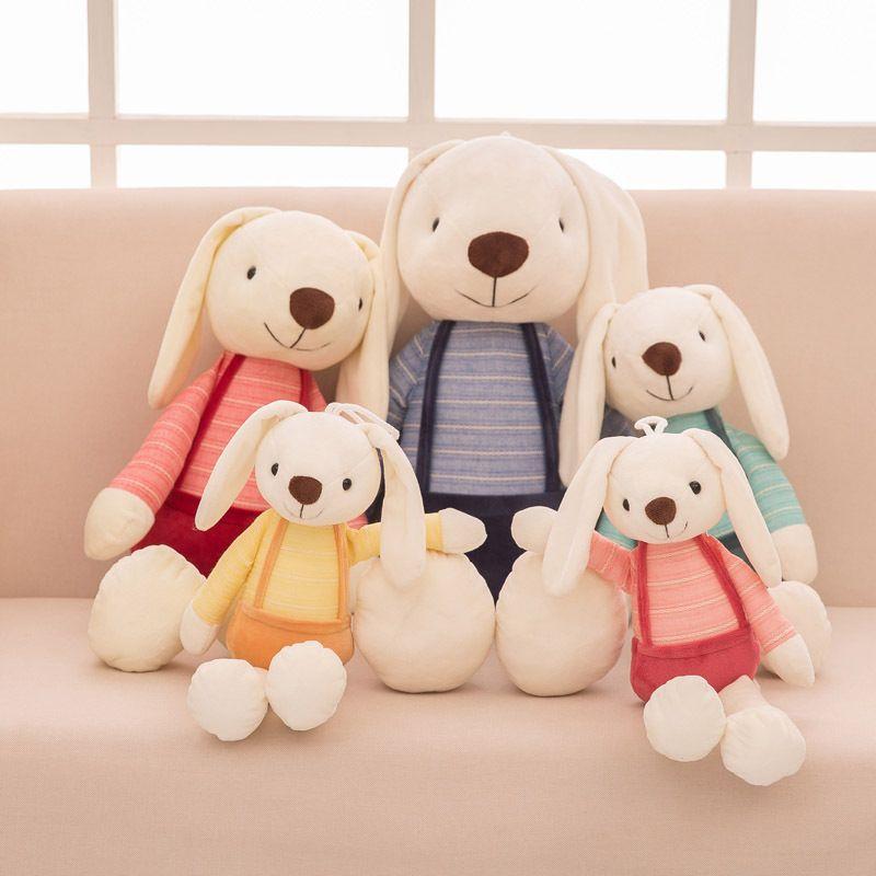 40 см зайчик плюшевый кролик детские игрушки милая мягкая ткань чучела животных кролика домашнее декор для детей младенца успокаивает игрушки подарок