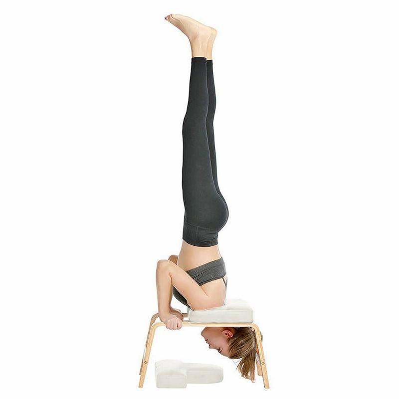 Yoga Headstand Inversion Bench Chair Fitness Training Equipment Home Gym Shoulder Inverted Artifact Auxiliary Inverted Chair