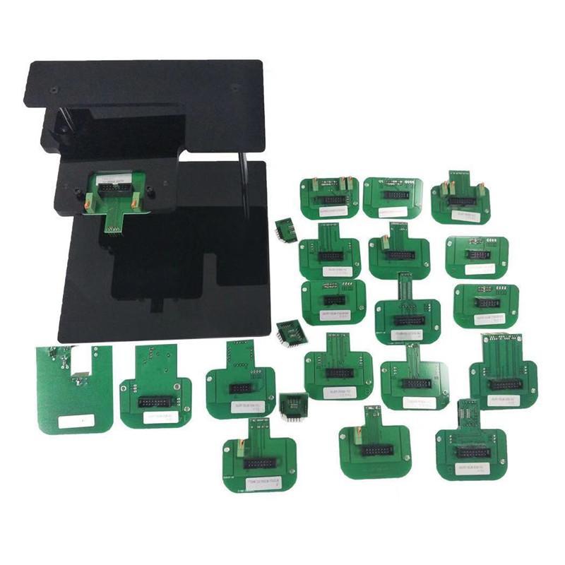 2020 Chegada Nova QUADRO LED BDM com 22 adaptador para KTAG KESS ECU com frete grátis