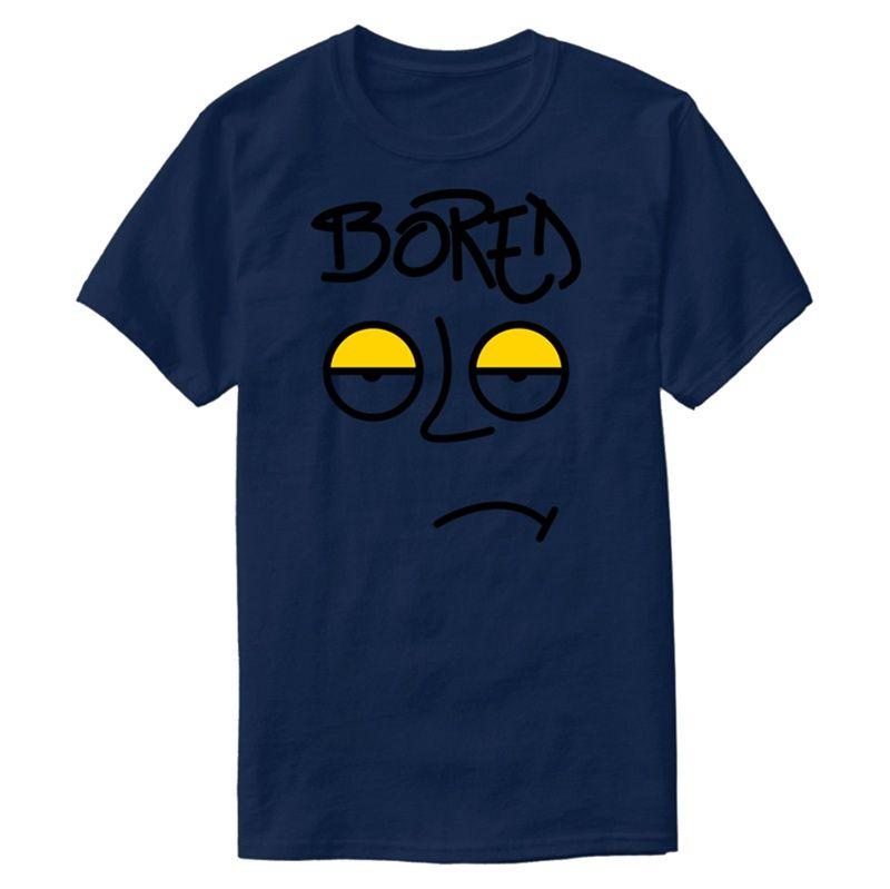 Настройка Смешные Скучно тенниска письмо Anti-Wrinkle Одежда Высокий Мужские футболки Большой размер 3XL 4XL 5XL Camisas Рубашка Top Tee