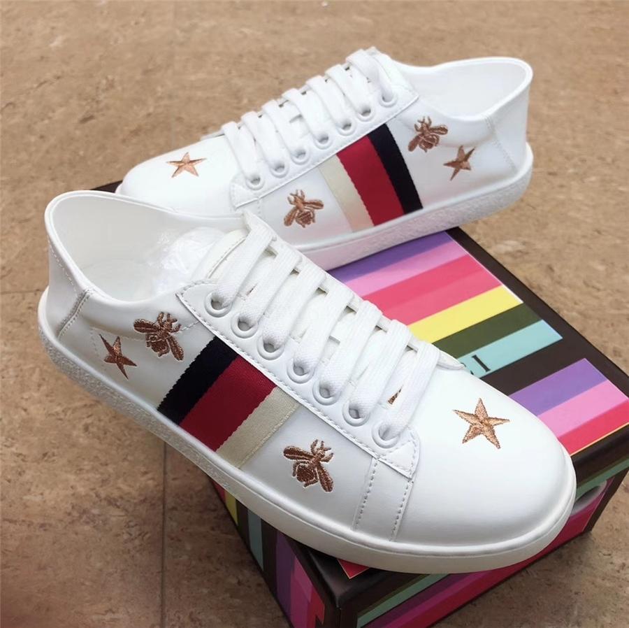 Los zapatos de Italia Multicolor talón de oro Superstar Gooses zapatillas de deporte Hombres Mujeres blanco clásico Do-Old Dirty Casual zapatos de tacón alto 35-45 # 462