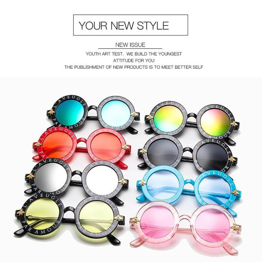 Cool Kids Girls Boys Sunglasses Polarized Lens Designer UV Protection Protective Sun Glasses Sports Cycling Glasses Outdoor Eyewear FY2236