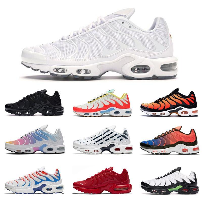 2020 zapatos corrientes Plus SE triples negro grito blanco zapatos de pimiento morrón arco iris Futuro Hombres Mujeres verdes Zapatos atléticos de las zapatillas de deporte