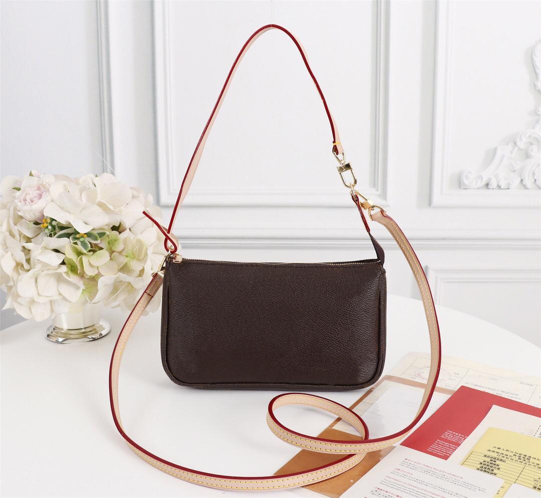Borse Purses POCHETTE accessori borsa delle donne di marca borse a spalla modo di alta qualità dal design di lusso stile classico del cuoio genuino