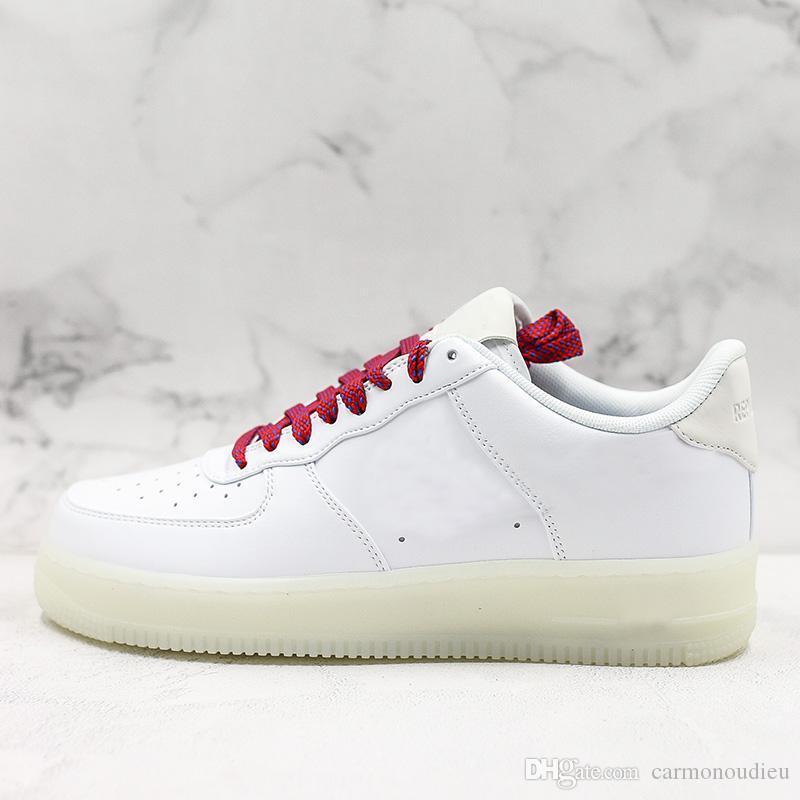 2020 OG x forceing 1 Low 07 Chaussures skatboard Université Blanc Classique de basket-ball Chaussures Femmes Mans Fashion Designer Sneaker