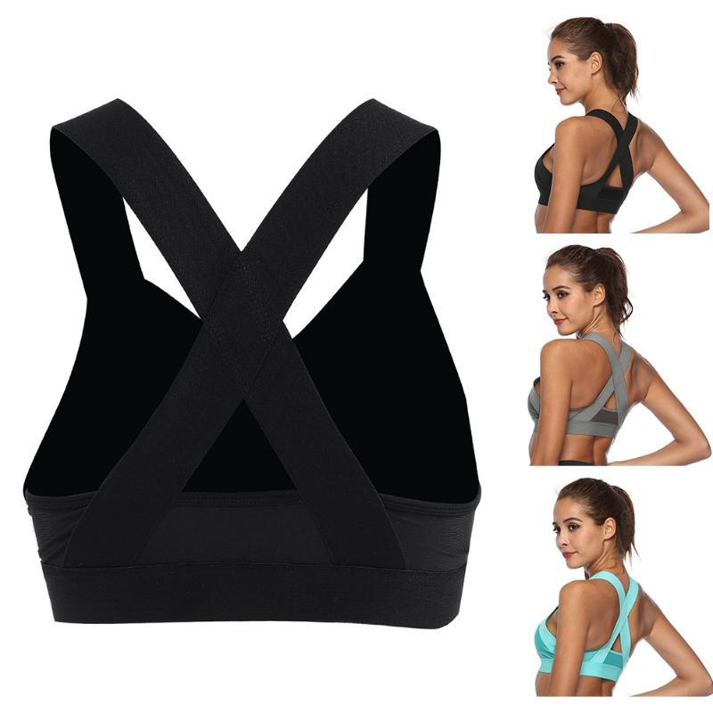 Brand New Women Wire Free Gym Bra High Quality Nylon Lightweight Breathable Yoga Running Vest Workout Sports Fitness Equipment
