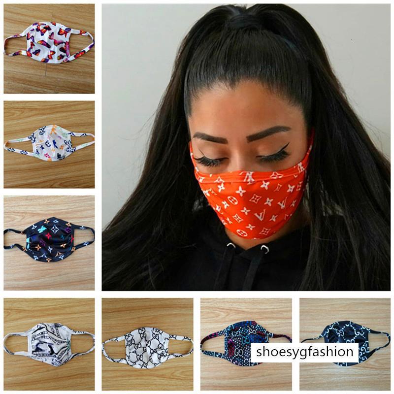 Lüks Tasarımcı Yüz Maske Anti Toz Ultraviyole dayanıklı Ağız-mufla Erkekler Kadınlar Yüz Maskeleri Moda Koruyucu Yıkanabilir Spor Yüz Maskesi