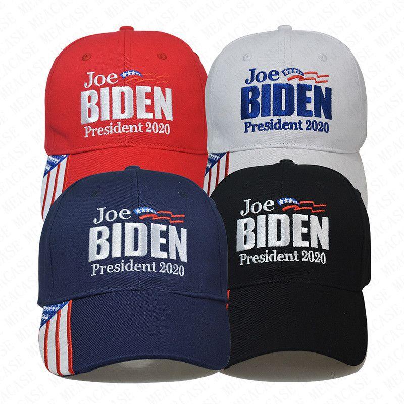 Marca Trump, Joe Biden, presidente 2020 Bola Hat Letras dos EUA Bonés de beisebol de Verão Adultos Caps Chapéus Visor Cap Outdoor Sports atingiu o pico Chapéus D7701
