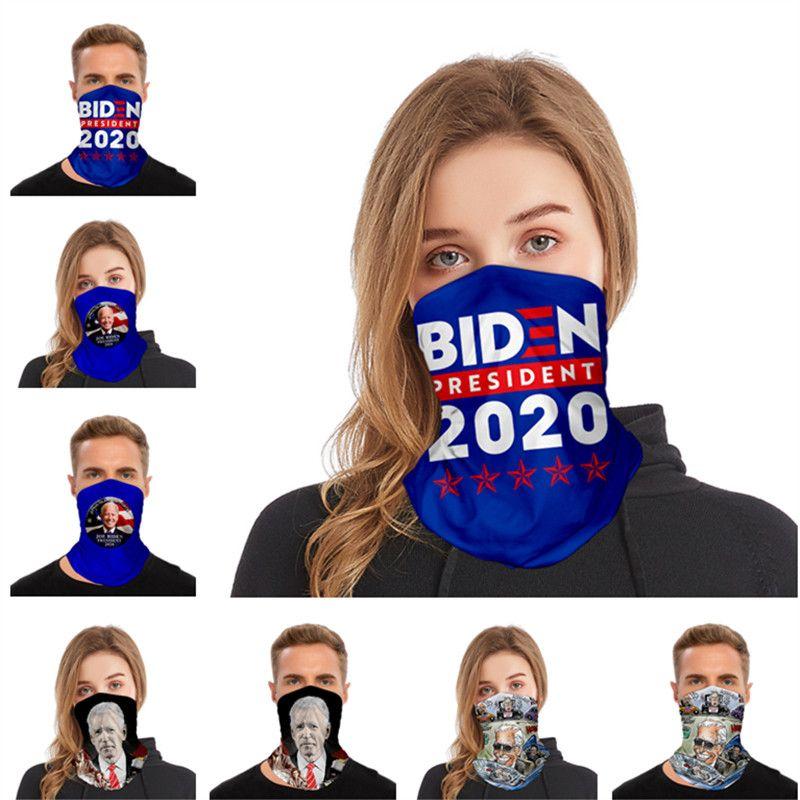 BIDEN sciarpa magica 3D Stampa della maschera di Uomini Donne antipolvere protezione solare Sciarpe Bandana lavabile tubo maschere Copricapo Outdoor Ciclismo migliore di vendita