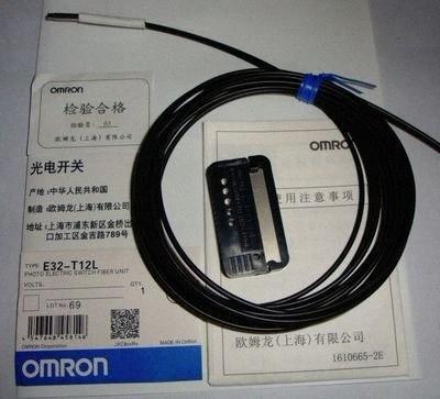 Interruptor fotoeléctrico E32T12L Omron marca Unidad de fibra E32T12L nueva FISQ #