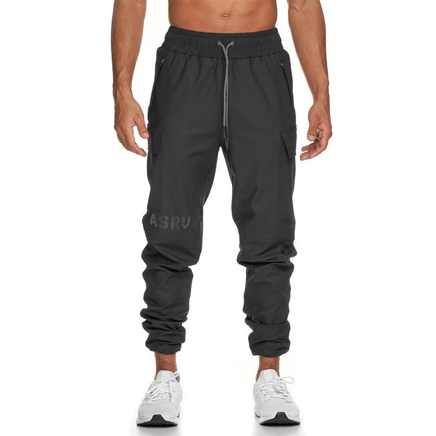 Mens Quick Long Asrv Sport Casual Stampa Dry Printing Pantaloni Sport traspirante Av AV Pantaloni maschili Nuova taglia M-3XL FLBGU