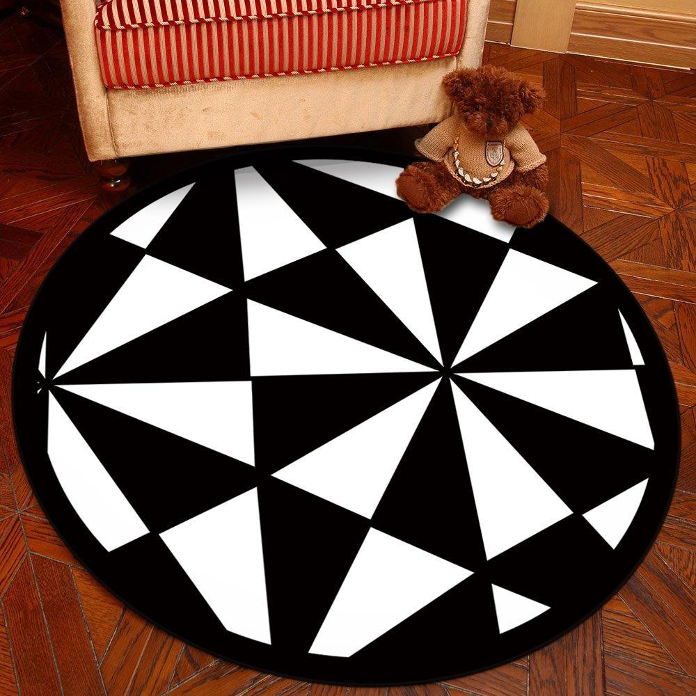 Coussin chaise tournante ronde ordinateur panier suspendu j Hanging panier simple ordinateur tapis modèle de tapis nordique