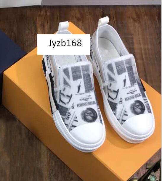 Оригинальная коробка Повседневная обувь B23 Косые High Top Мужские Женская мода кроссовки Патроны Vulcanized Ice Chaussures Размер 35-44