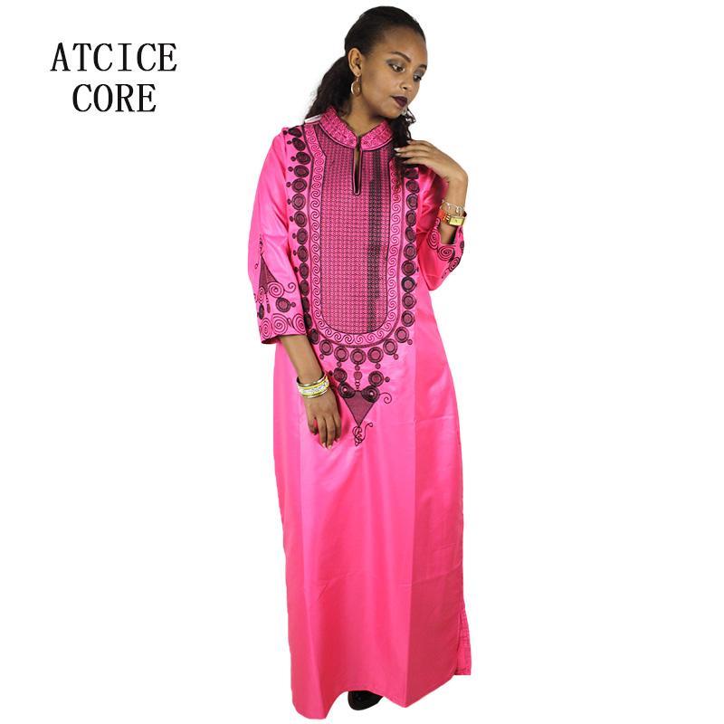 Etnik Giyim Afrika Kadınlar için Elbise 20218 Moda Tasarım Dashiki Bazin Riche Geleneksel