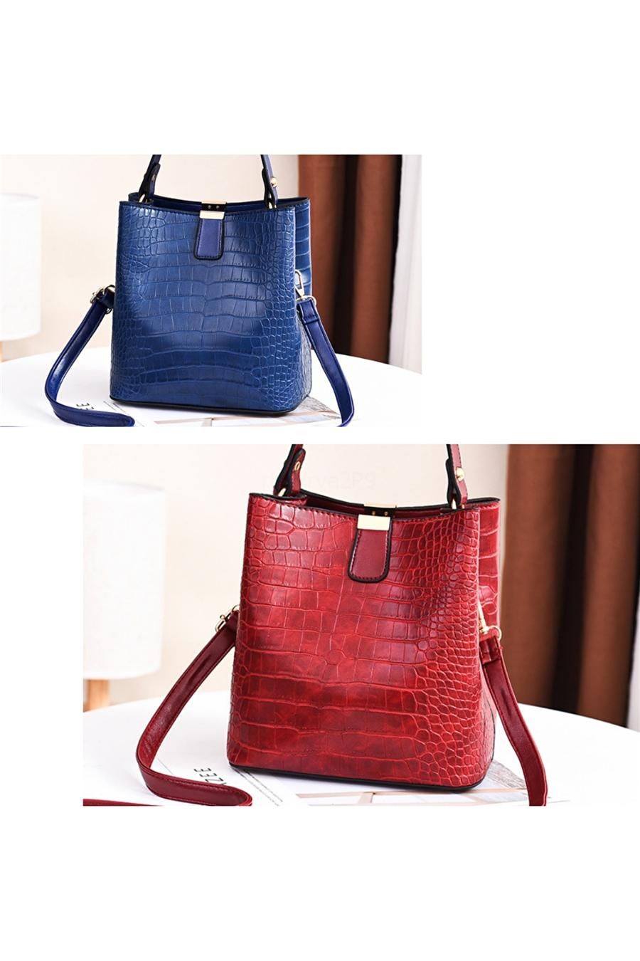 JIEROTYX Leather Shoulder Bags For Women New Fashion Exquisite HandBag Ladies Huge Golden Chain Decoration Women Bag#515