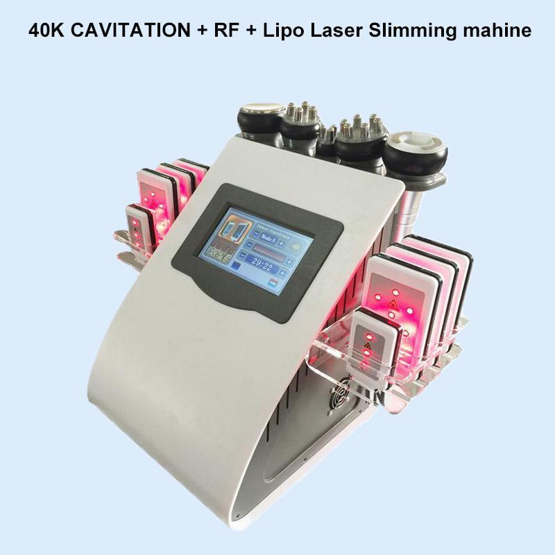 Ultrasonik Kavitasyon Makinesi Lipo Lazer 40 K Zayıflama Makinesi Kilo Kaybı Zayıflama Detoks Güzellik Salonu Ekipmanları