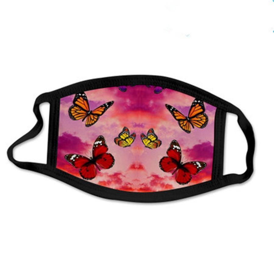 Stok, mevcut! Yeniden kullanılabilir Unisex Pamuk Fa Maskeler Vana PM2.5 Kumaş Dener Baskılı Fa # 911 # 698 Serbest Maske Wasable Maske Wit Filtre Maske