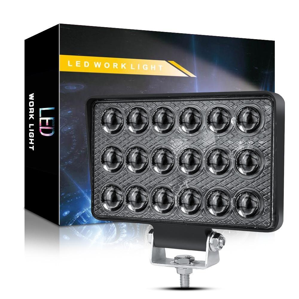 LED WINSUN السيارات الخفيفة العمل 5 بوصة 18 الخرز 54W التحديثية أضواء للسيارات الدراجات النارية على الطرق الوعرة شاحنة سيارة