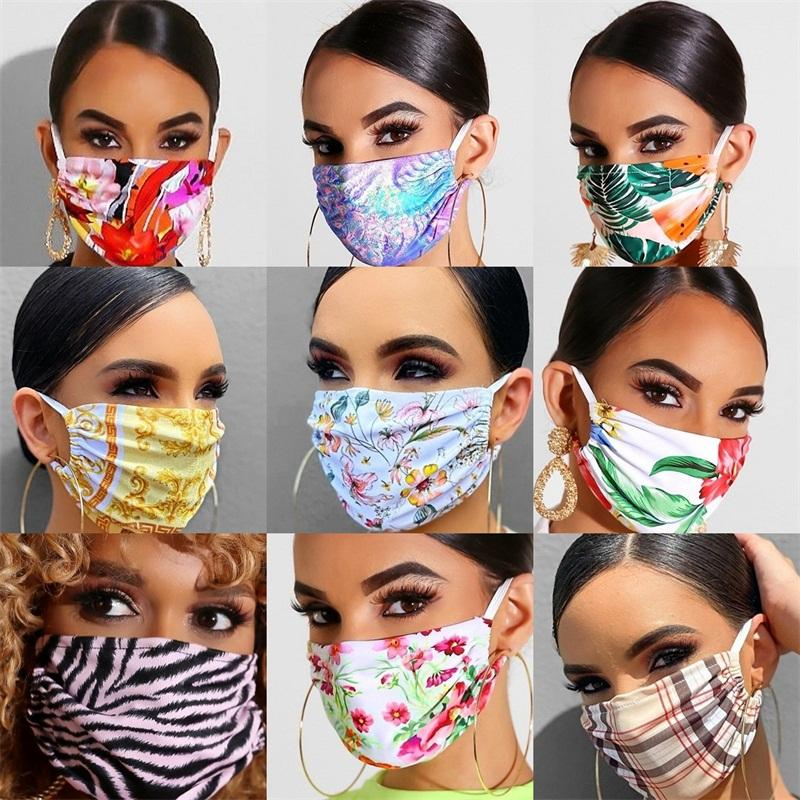 Ear Hanging Type Respirator Protective Mouth Colorful Stamen Face Mask Dustproof Fashion Reusable Mascarilla Cloth Adult Sports 6xqa B2
