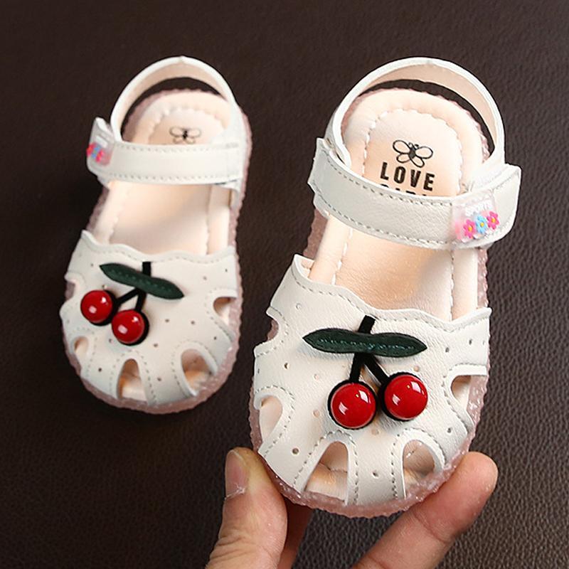 Summer Baby Sandals For Girls Newborn