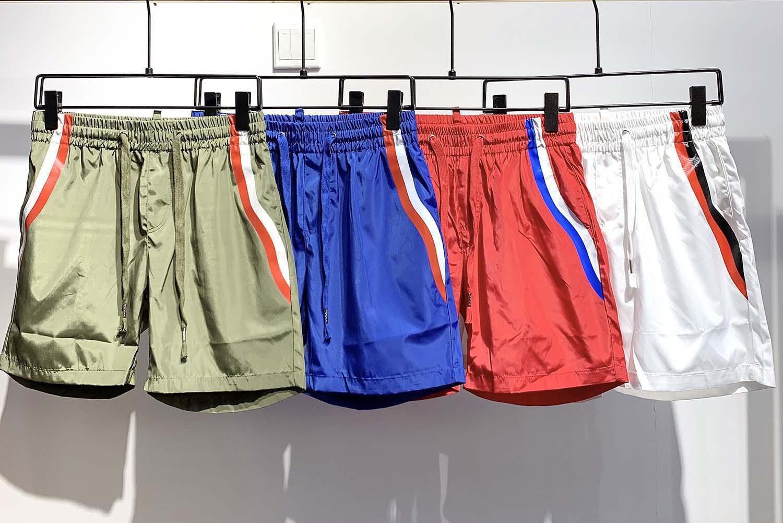 2021s pantalon Marque de plage hommes Medusa art mode short européenne design imprimé hip-hop été nouveau short mâle en nylon motif imprimé