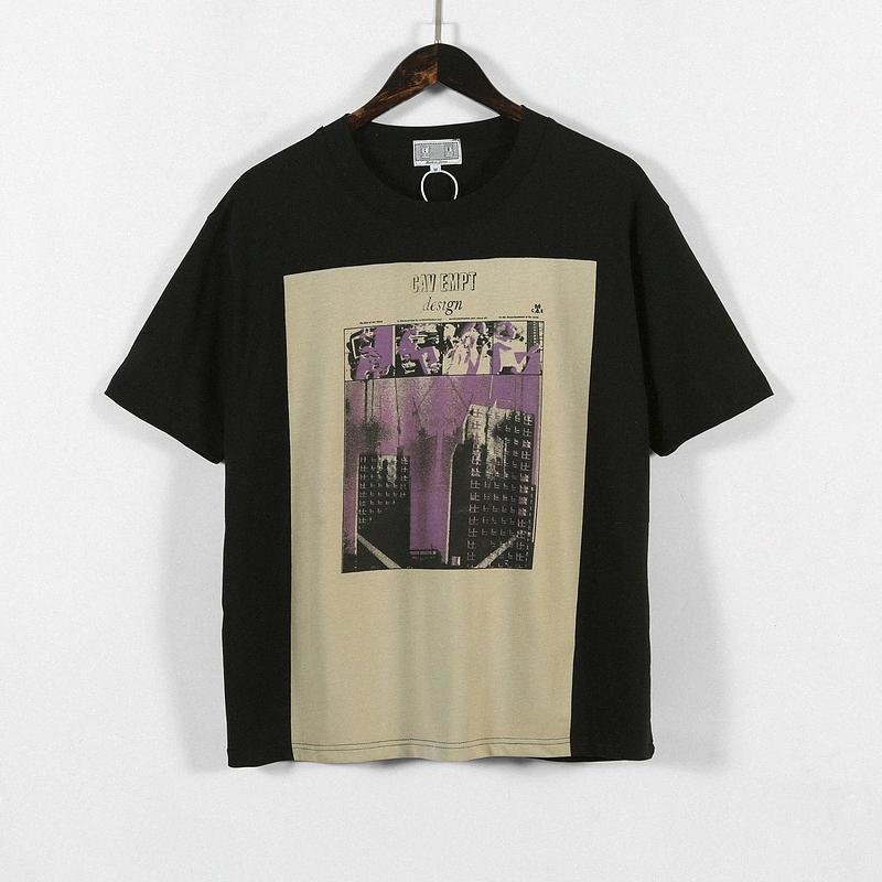 2020SS CAV EMPT C. E. Lange Box Tees Männer Frauen Paare Maxi-T-Shirt Cav Empt Cotton T-Shirt Männer gkjX #