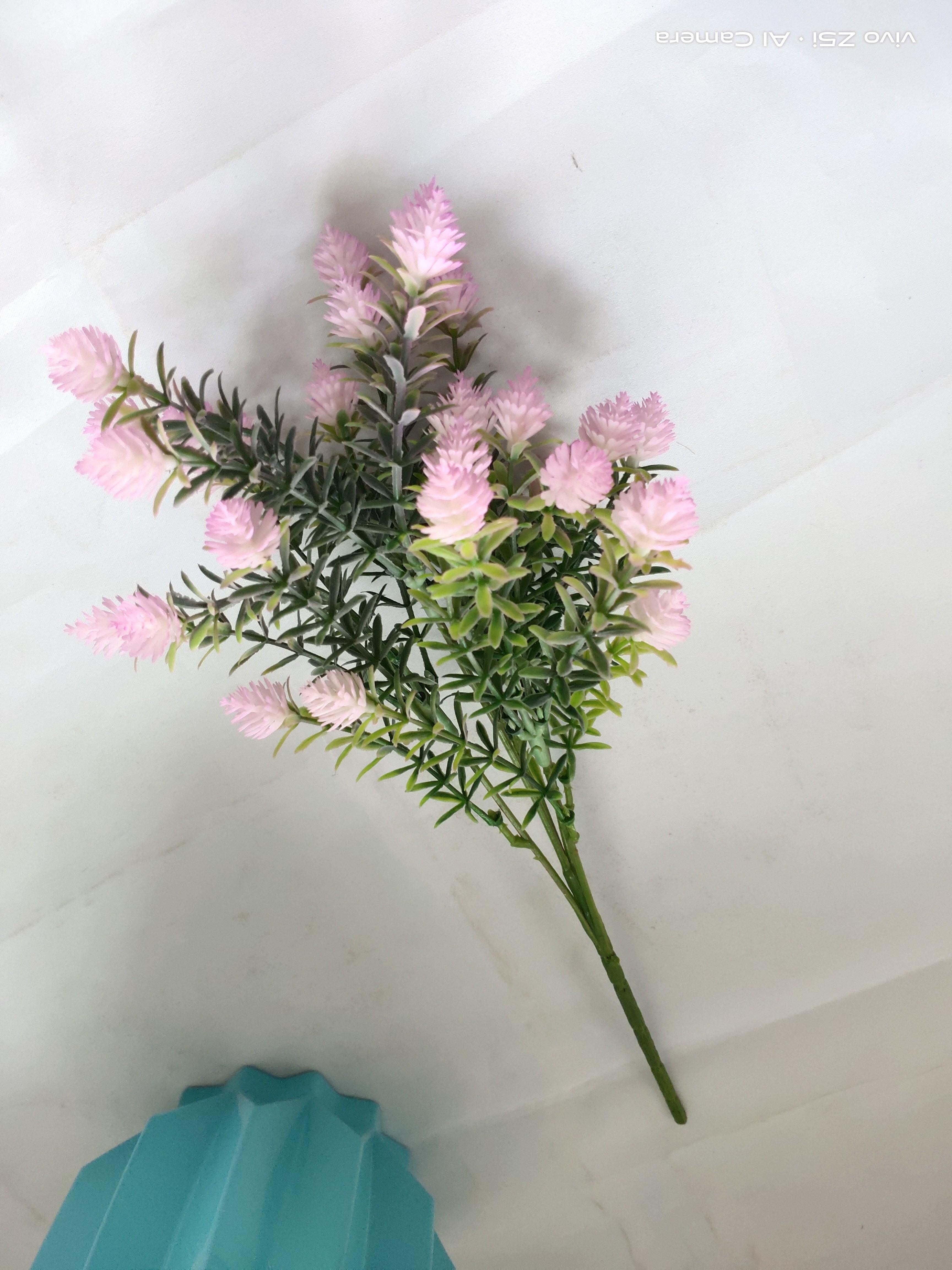5 Глава Сноу Лотос Херб Искусственный цветок для дома и партии украшения