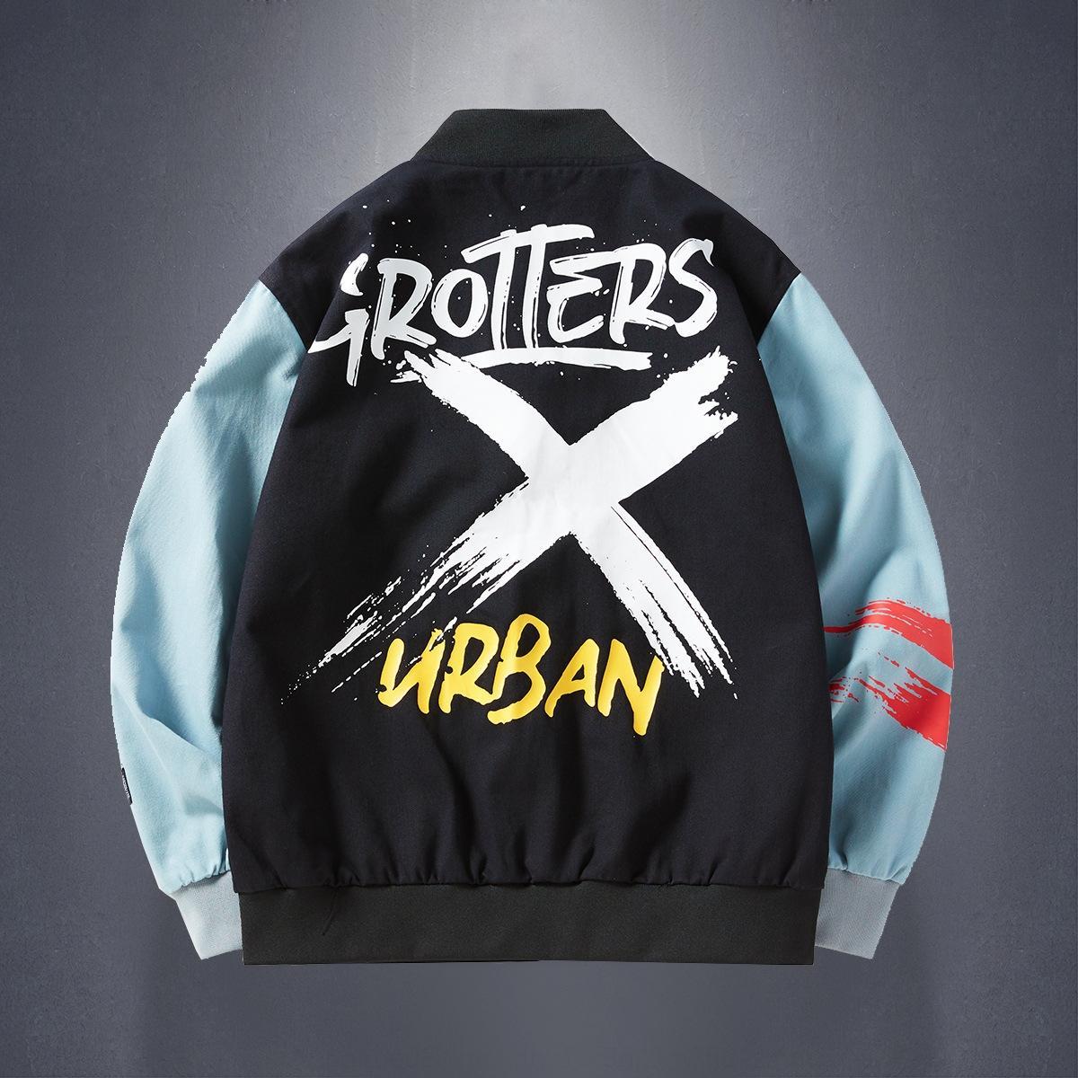2020 primavera di grandi dimensioni sottile studente giacca bello hip hop giacca edizione allentata uomini di marca di moda