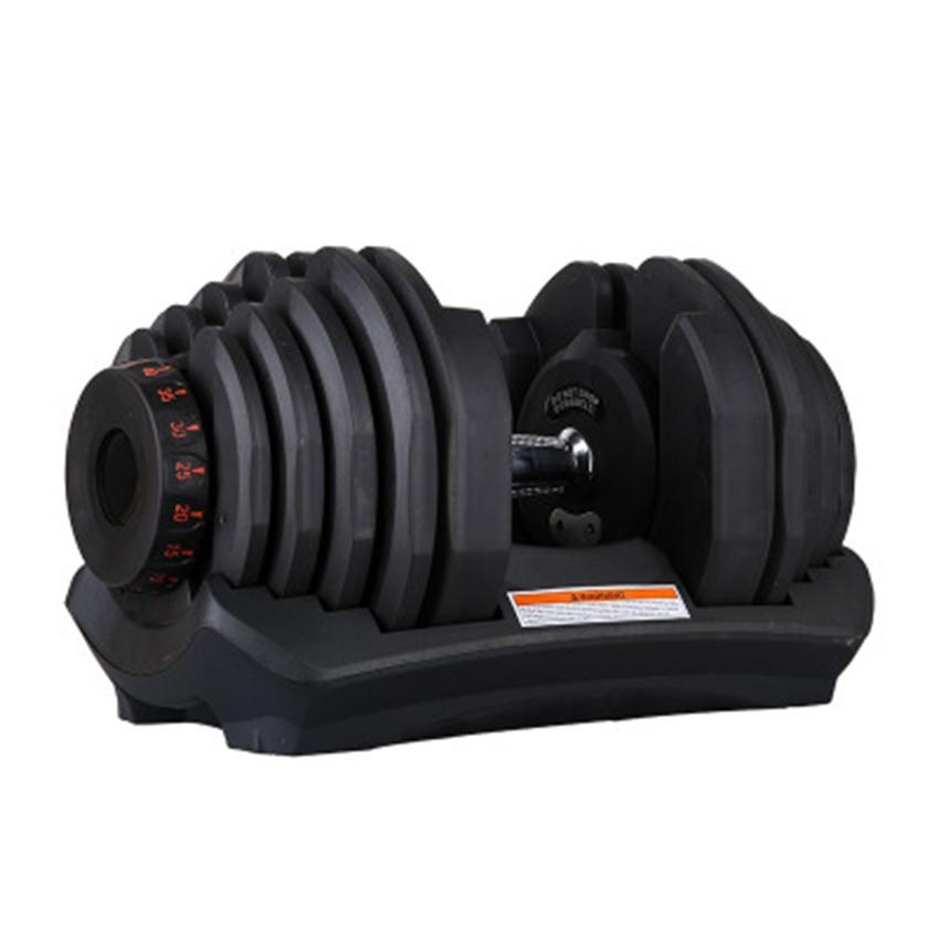 قابل للتعديل الدمبل 10-90lbs أوزان للياقة البدنية التدريبات الدمبل بناء عضلاتك الرياضة في الهواء الطلق معدات اللياقة البدنية ZZA2471 الشحن البحري