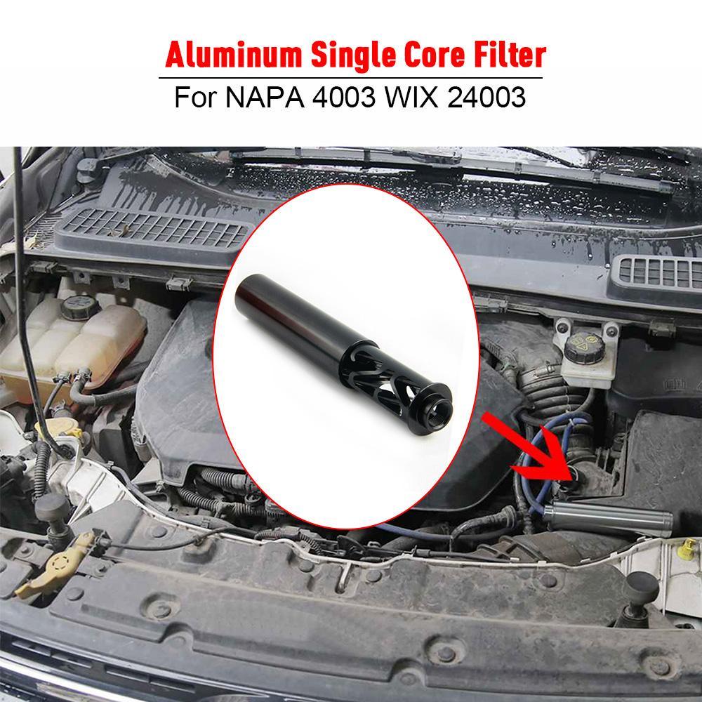 ABD stok yeni spiral1 / 2-28 araba yakıt filtresi tek çekirdekli alaşım Napa 4003 Wix 24003 orijinal rs-ofi023