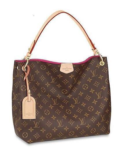 Lockme Cabas M54578 Shopper Tote torção Bloqueio Red Handbag Mulheres Bolsas de Ombro Mensageiro Totes Iconic Cruz Body Bags Top Alças