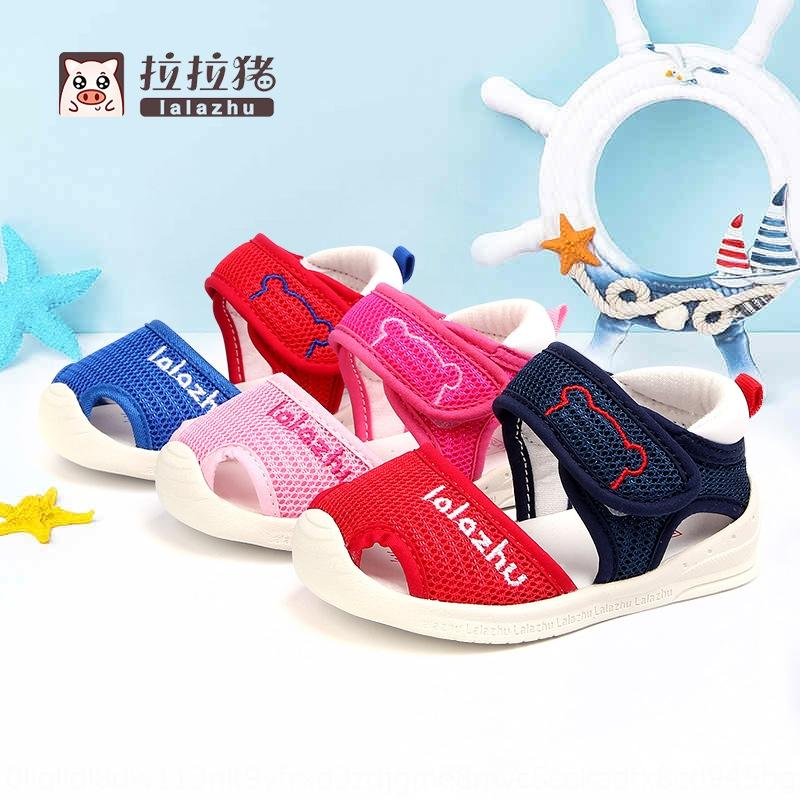 Lala sandals for boys and girls Baotou baby soft toddler 1-3 Sandals children children's shoes children's shoes years old 2-1