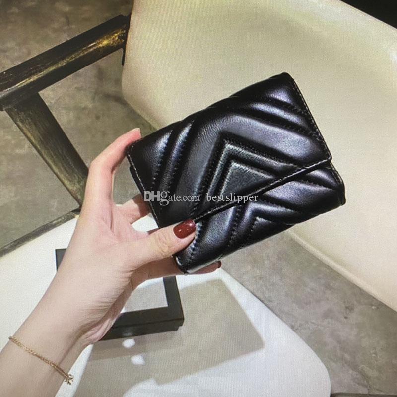 474802 MARMONT قصيرة محفظة الكلاسيكية عملة أزياء النساء محفظة سحاب الحقيبة مبطن جلد ناعم محافظ الرئيسي حامل البطاقة بطاقة الائتمان مخلب