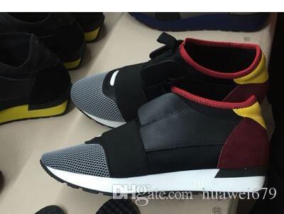 Designer NewesNew Popular alta qualidade Homens Mulheres Moda Low Cut Lace Up respirável malha sapatilha Ao Ar Livre Corrida Runner Shoe Casual