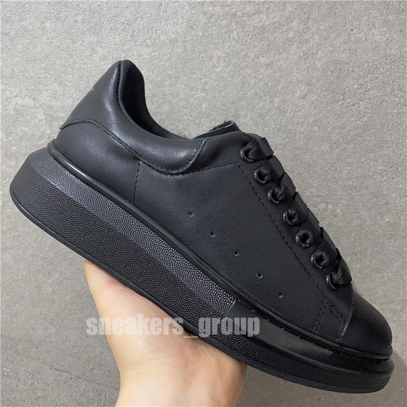 Top-Qualität 2020 der Frauen der Männer Art und Weise weißes Leder-Schwarz-Zurück Plattform-Schuh-flache beiläufige Schuh-Dame Black Chaussures Frauen-weiße Turnschuhe