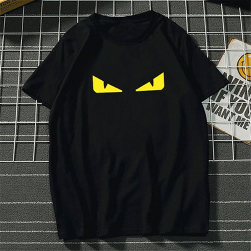 Hommes T-shirt décontracté à manches courtes Mode Noir Blanc Haute Qualité Hommes Femmes Hip Hop T-shirts Qualité 100% coton Taille S-3XL