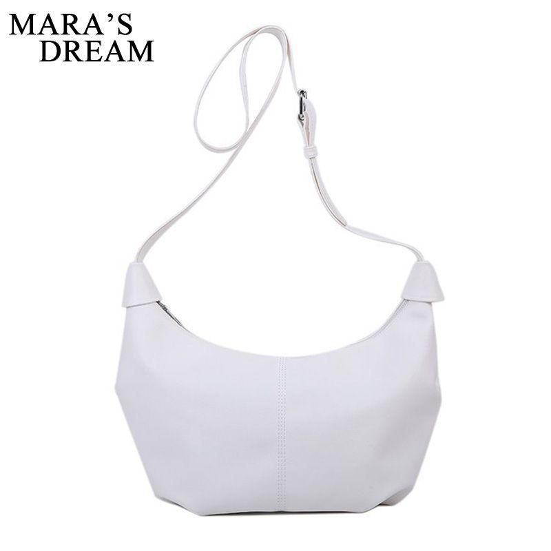 Simple Dream 2020 Fashion Solid Bag Retro Mara's New Wild Small Single Armpit Color Female Bag Shoulder Handbag Cmkkq