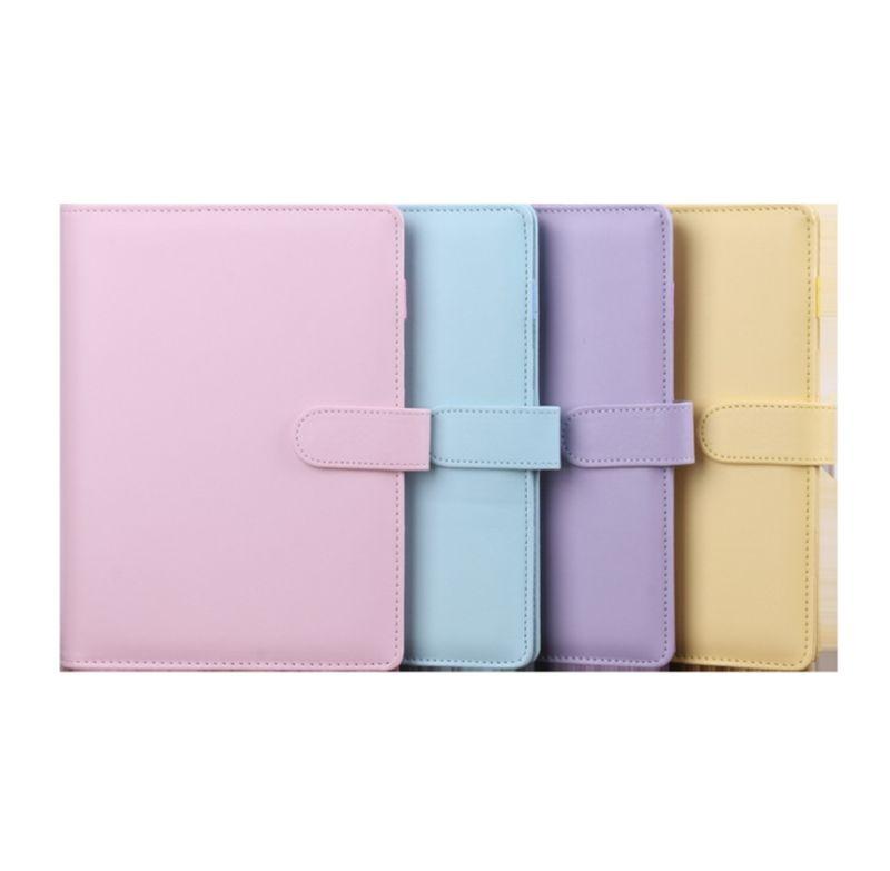 A6 جديد بو كتاب المفكرة لطيف متعدد الألوان دفتر لا ورقة داخل اللوازم المكتبية المدرسية بواسطة المحيط A16