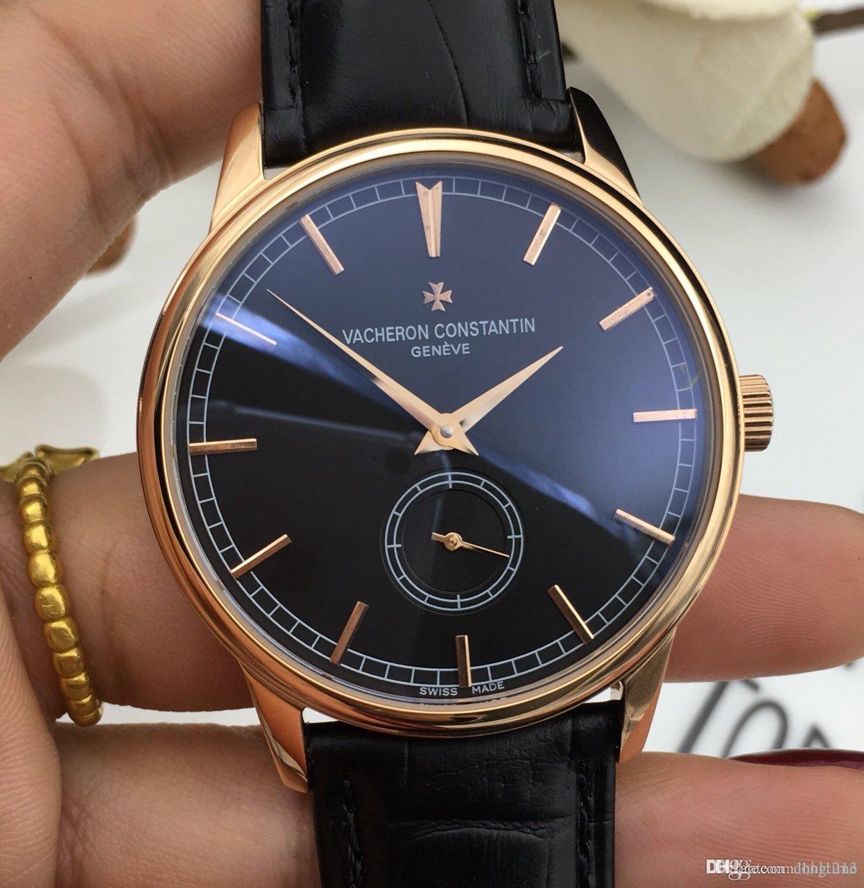 Hot Herren-Uhr Mens-mechanische automatische Uhr Luxus-Sport-Uhr-beiläufige Art und Weise Entwurf Armbanduhr Geschäft Wasserdicht JC908003