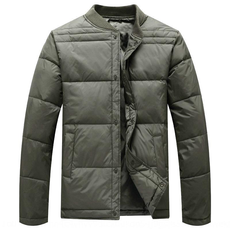 MSqJ1 Orta yaşlı Sıcak jacketDown ceket jacketand yaşlı ceket astar erkekler kısa erkek kalınlaşmış sıcak giysiler aşağı genişlemiş astar straigh