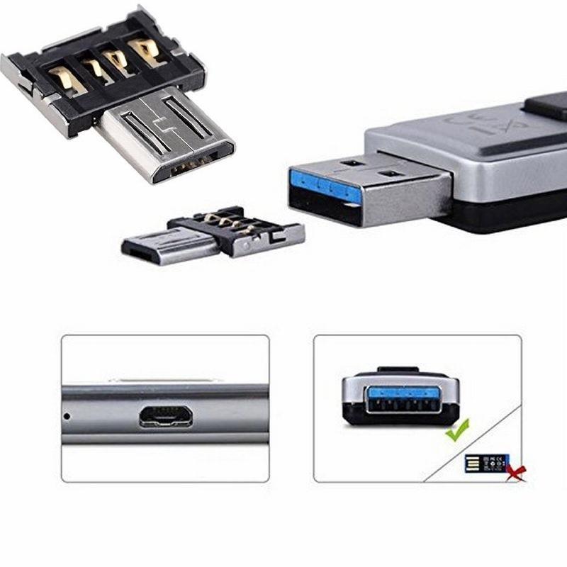 Mini-USB-Flash-Disk U Disk 5pin Mikro-USB-OTG-Kabel-Adapter-Konverter für Xiaomi HTC Samsung HuaWei Tablet