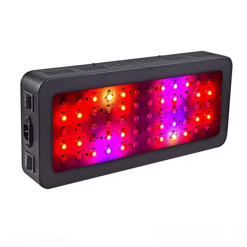Светодиодные светильники двойного выключателя 900W 600W полный спектр с моделью VEG и Bloom для внутреннего теплицы растут