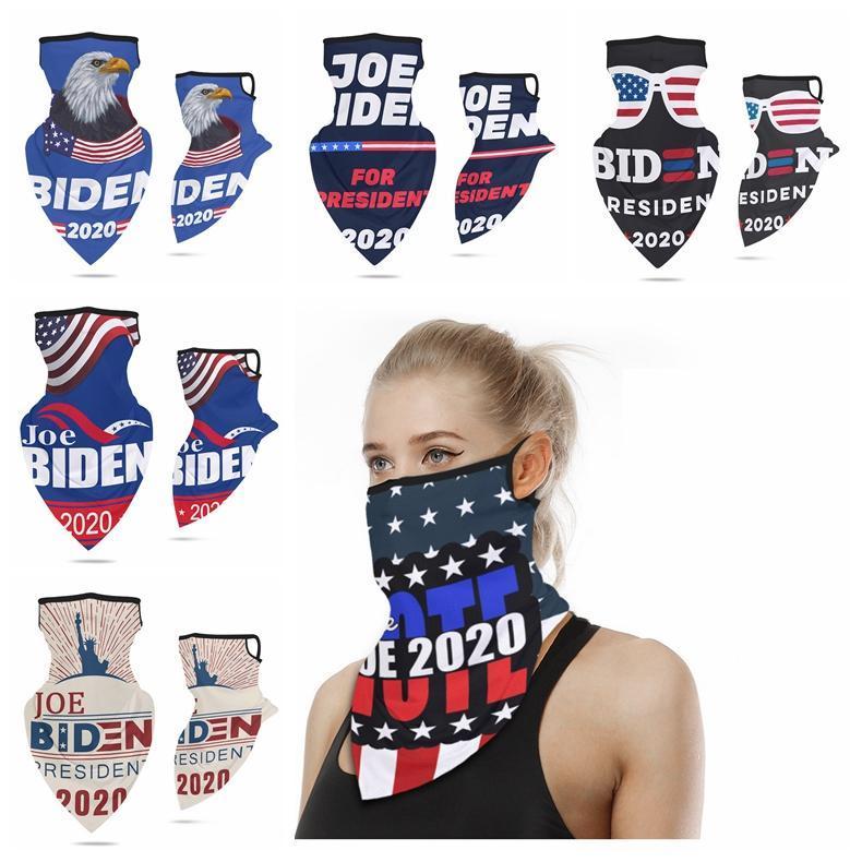 DHL Gemi Yeni Spor Bisiklet Yüz Eşarp Küpe ABD Başkanlık Seçim Biden Doğa Sporları toz geçirmez Güneş kremi Eşarp Çevrimiçi Maske