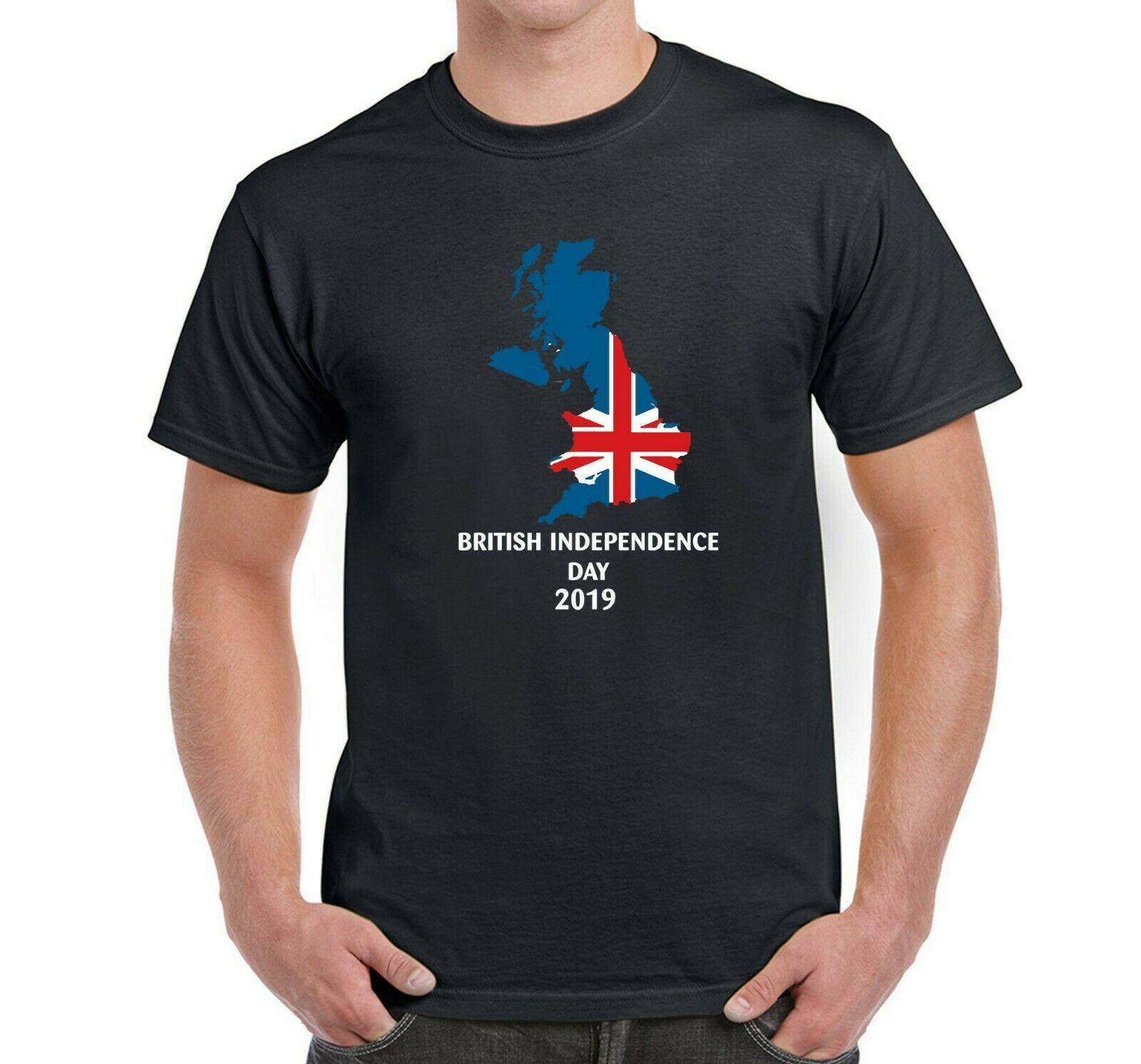Día de la Independencia británica 2020 V2 Brexit Dejar Indicador de la UE T ShirtMen Wo hombres Moda Unisex camiseta envío