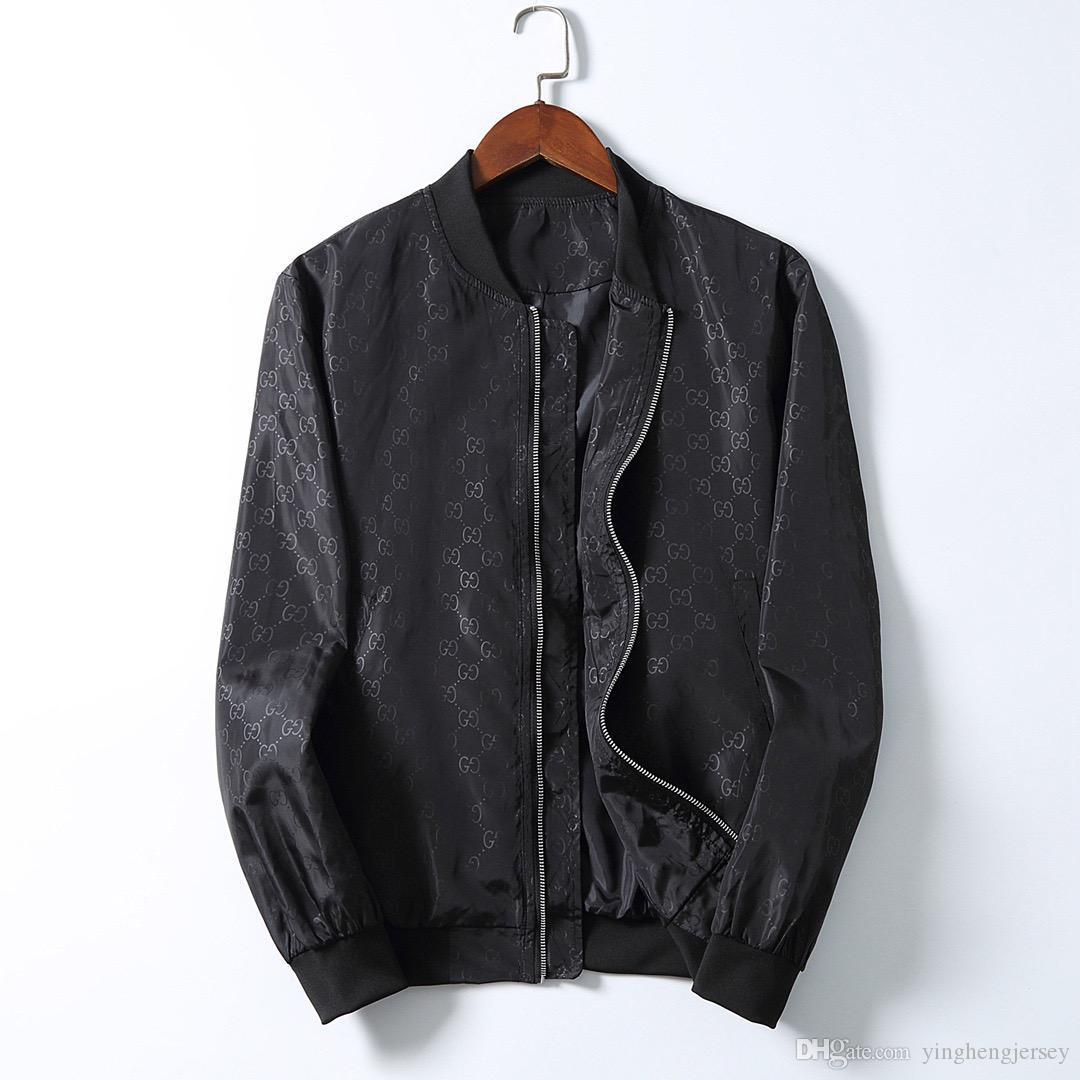 2020 Mens progettista Giacca con cappuccio Giacca a vento per gli uomini donne Autunno Inverno Zipper tuta sportiva del cappotto di moda floreale Jacket Print Designer