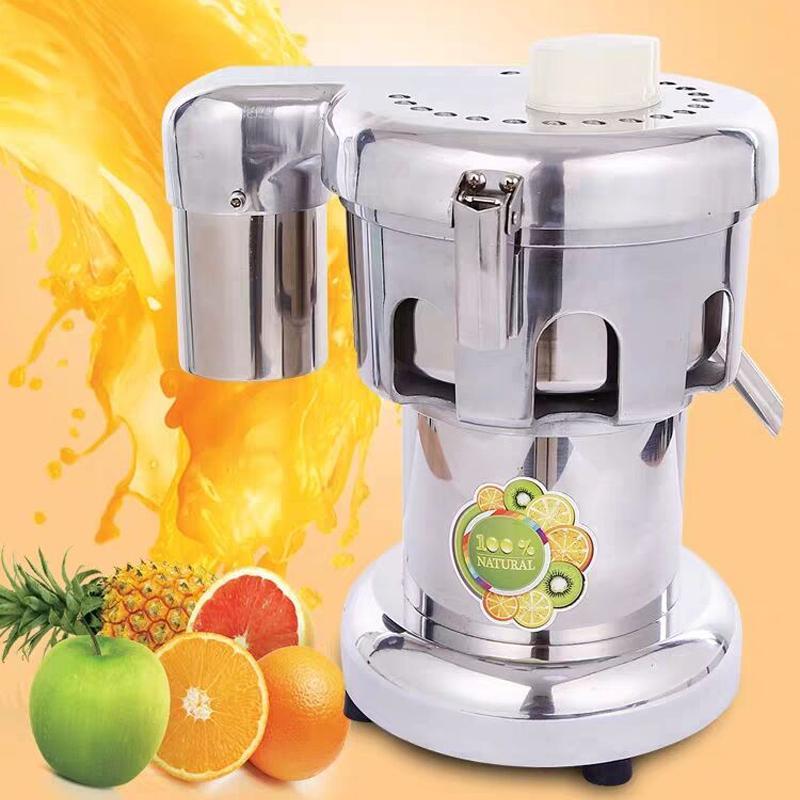 machine de presse à froid de jus de fruits commerciaux juicing acier inoxydable éjection automatique de la pulpe de jus presse-agrumes crasses séparé Machine